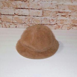 Kangol Furgora Grouser L Tan Angora Bucket Hat